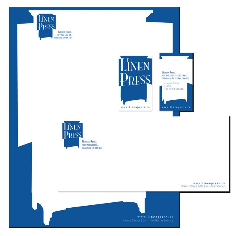 Linen Press - Branding & Collateral
