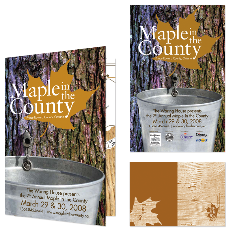 Maple In the County - Branding & Collateral