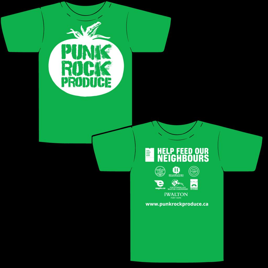 Punk Rock Produce - Branding & T-shirt