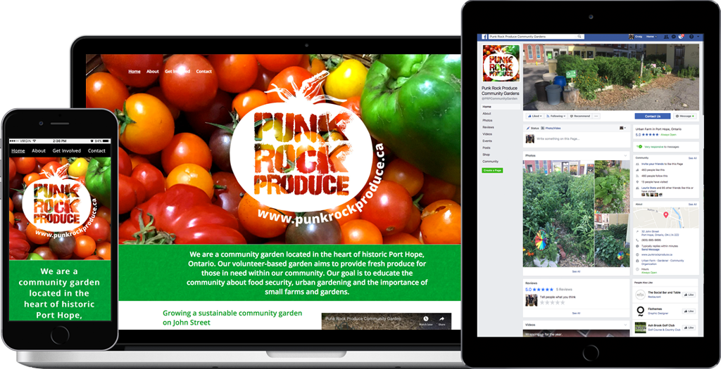 Punk Rock Produce - Updated Website