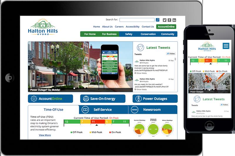 Halton Hills Hydro - Website