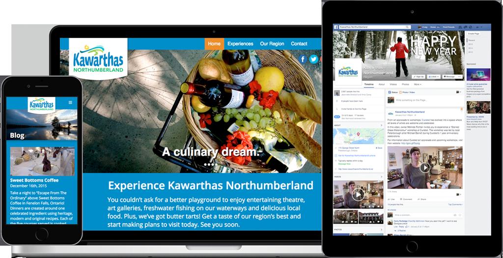 Kawarthas Northumberland - Website & Campaign