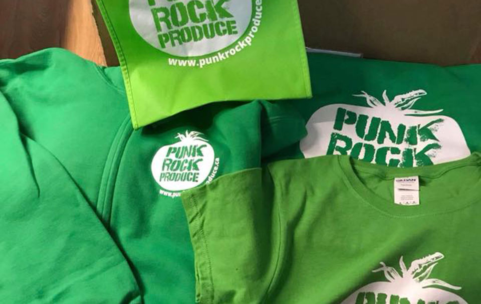 Punk Rock Produce Merchandise